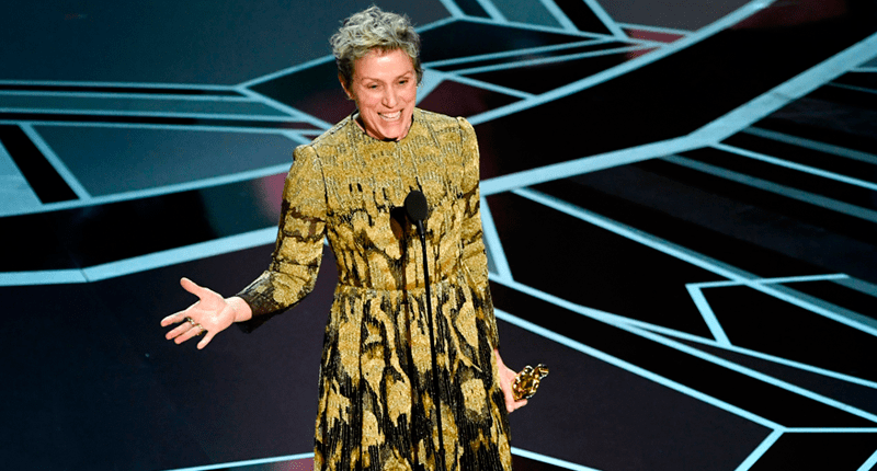 Frances McDormand, un regalo llamado Mildred Hayes