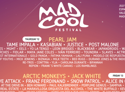 Mad Cool 2018 completa su cartel