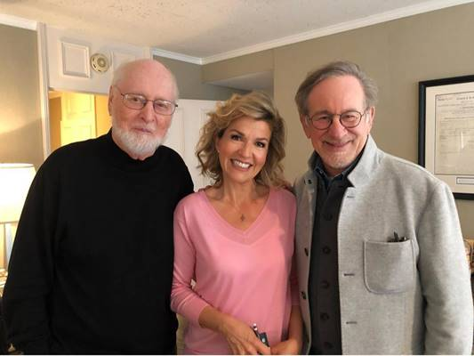 John Williams y Anne-Sophie Mutter, unidos a propuesta de Deutsche Grammophon