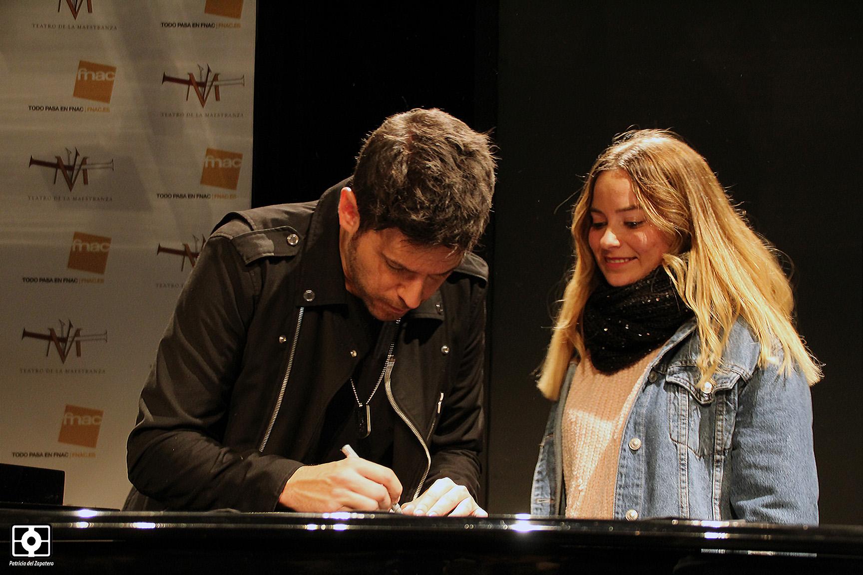 Pablo López presenta su último disco en Sevilla