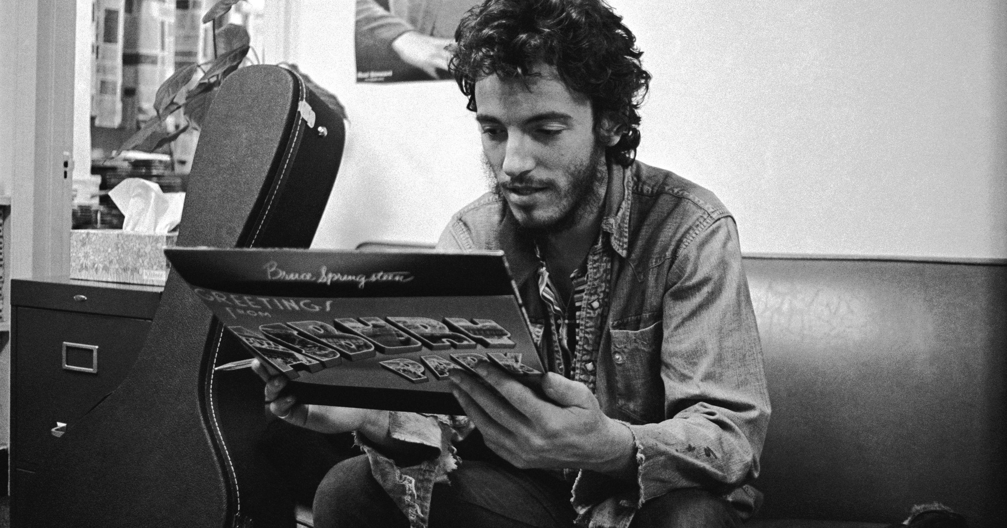 Cuarenta y cinco años del primer disco de Bruce Springsteen greeting from asbury park