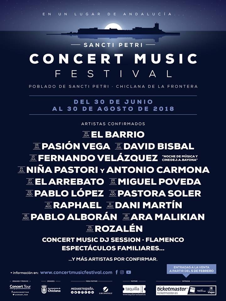 Concert Music Festival Sancti Petri 2018