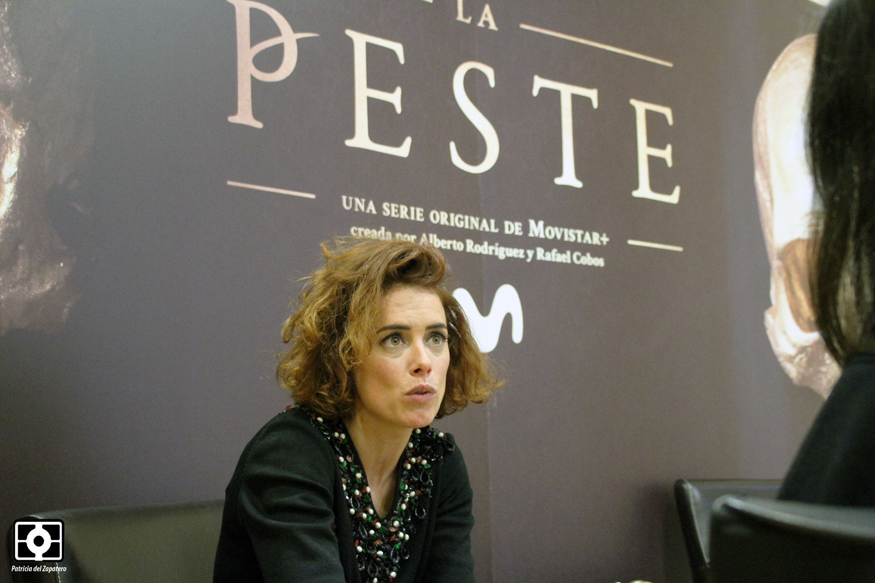 """Patricia López Arnaiz: """"El objetivo de La Peste era representar un retrato de la época, con sus pros y sus contras"""""""