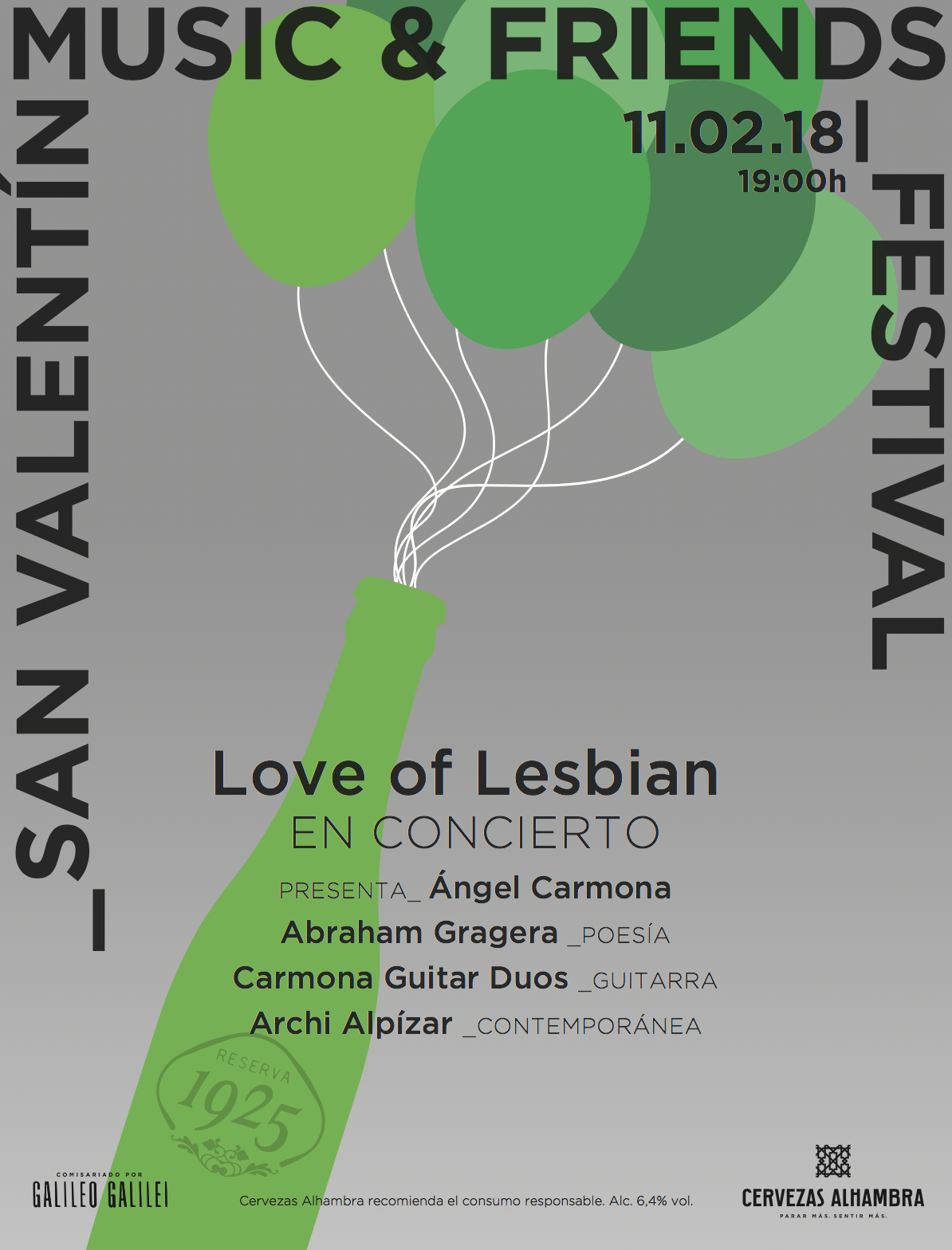 Festival de San Valentín Music & Friends celebra su tercera edición