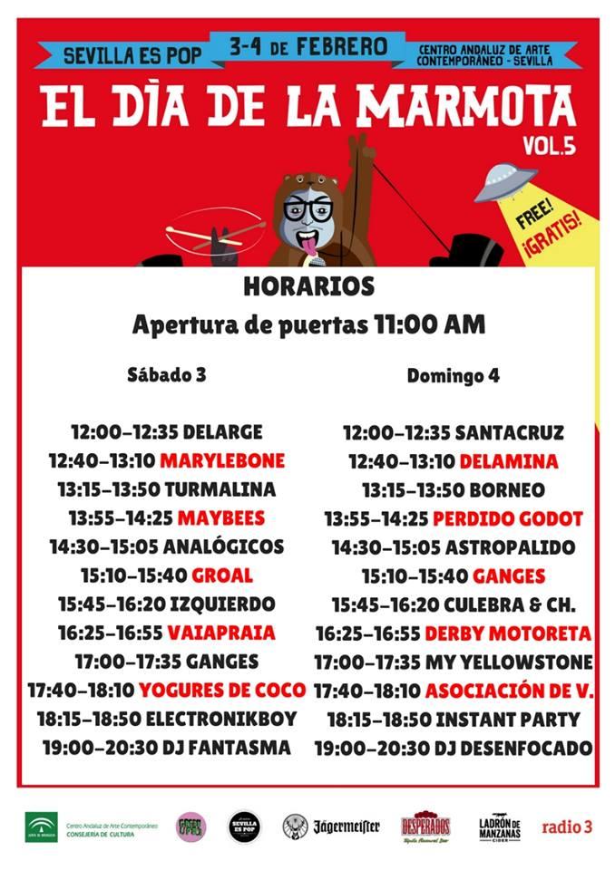 El Día de la Marmota llega a Sevilla