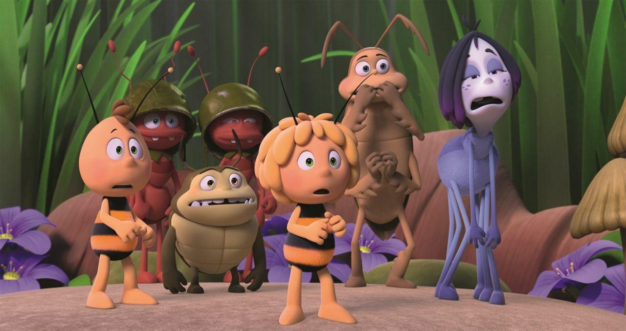 la abeja maya los juegos de la miel estrenos