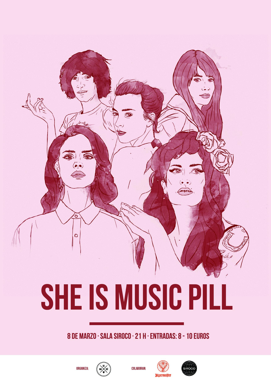 She Is Music Pill, conmemora el Día Internacional de la Mujer