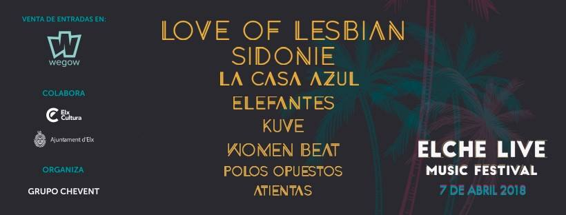 Elche Live Music Festival celebra su tercera edición