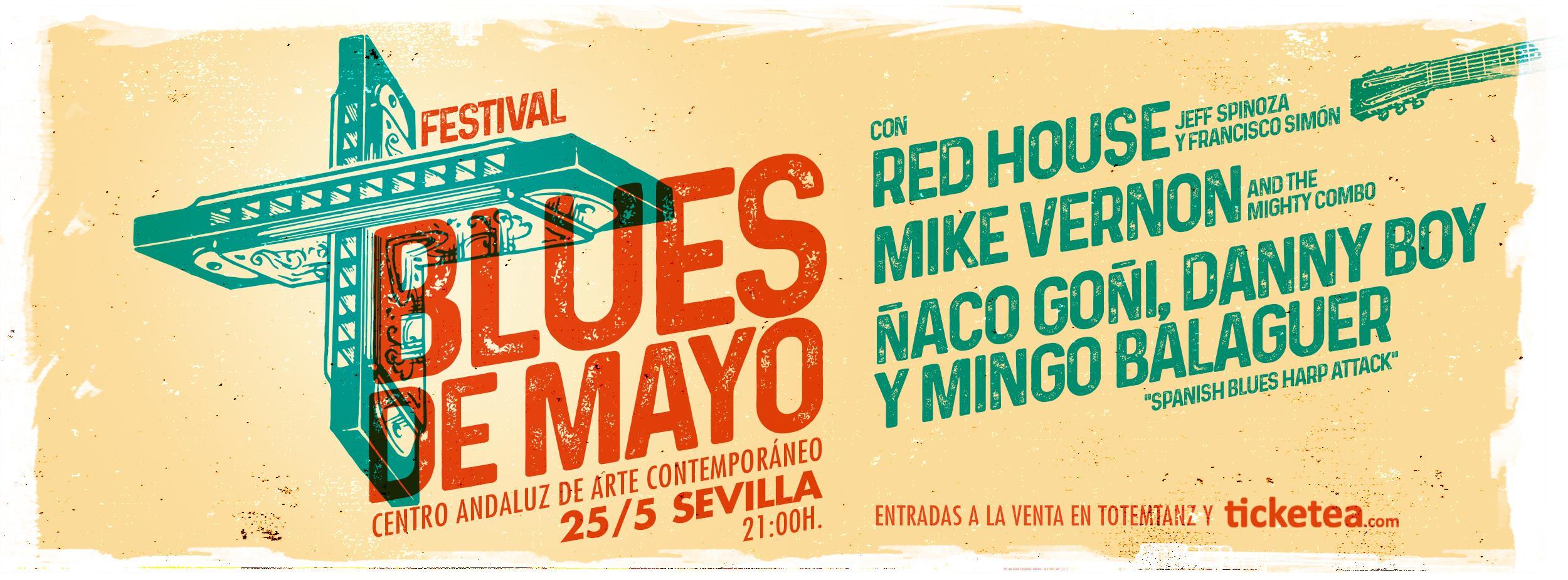 Nace en Sevilla el Festival Blues de Mayo