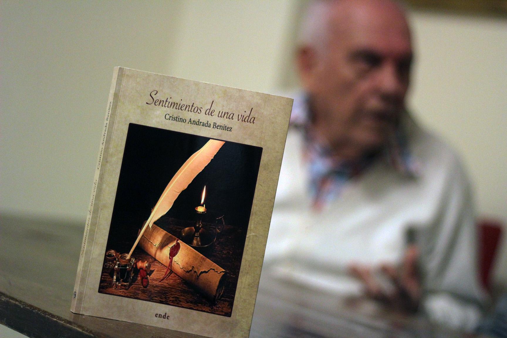 Cristino Andrada, poemas para una pasión