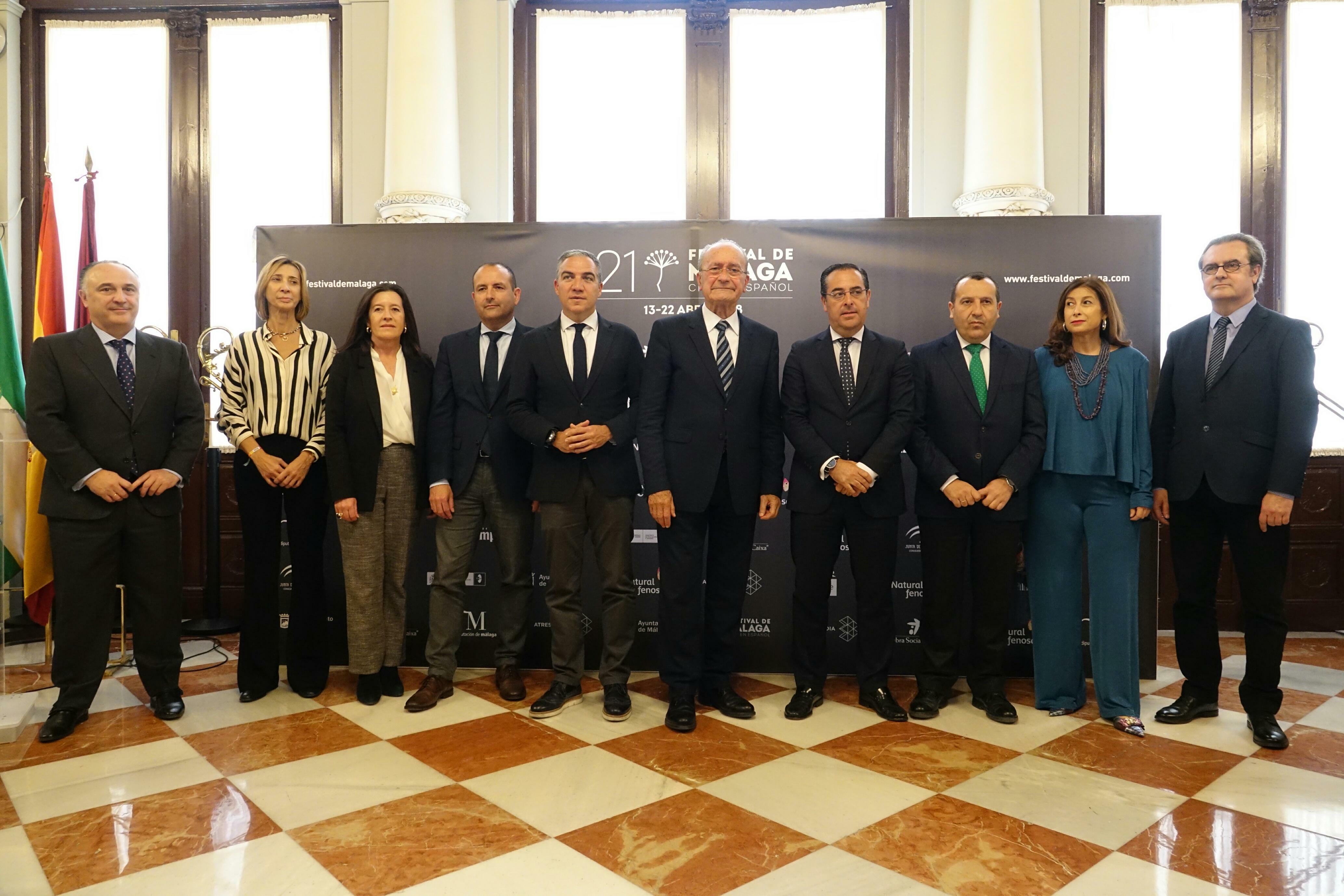 Se presenta la 21 edición del Festival de Cine de Málaga
