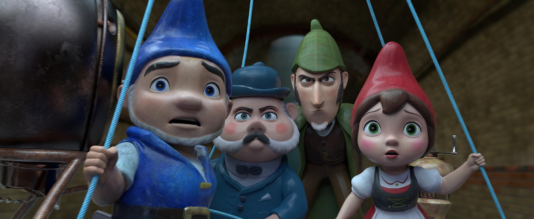 'Shelock Gnomes' llega a los patios cordobeses