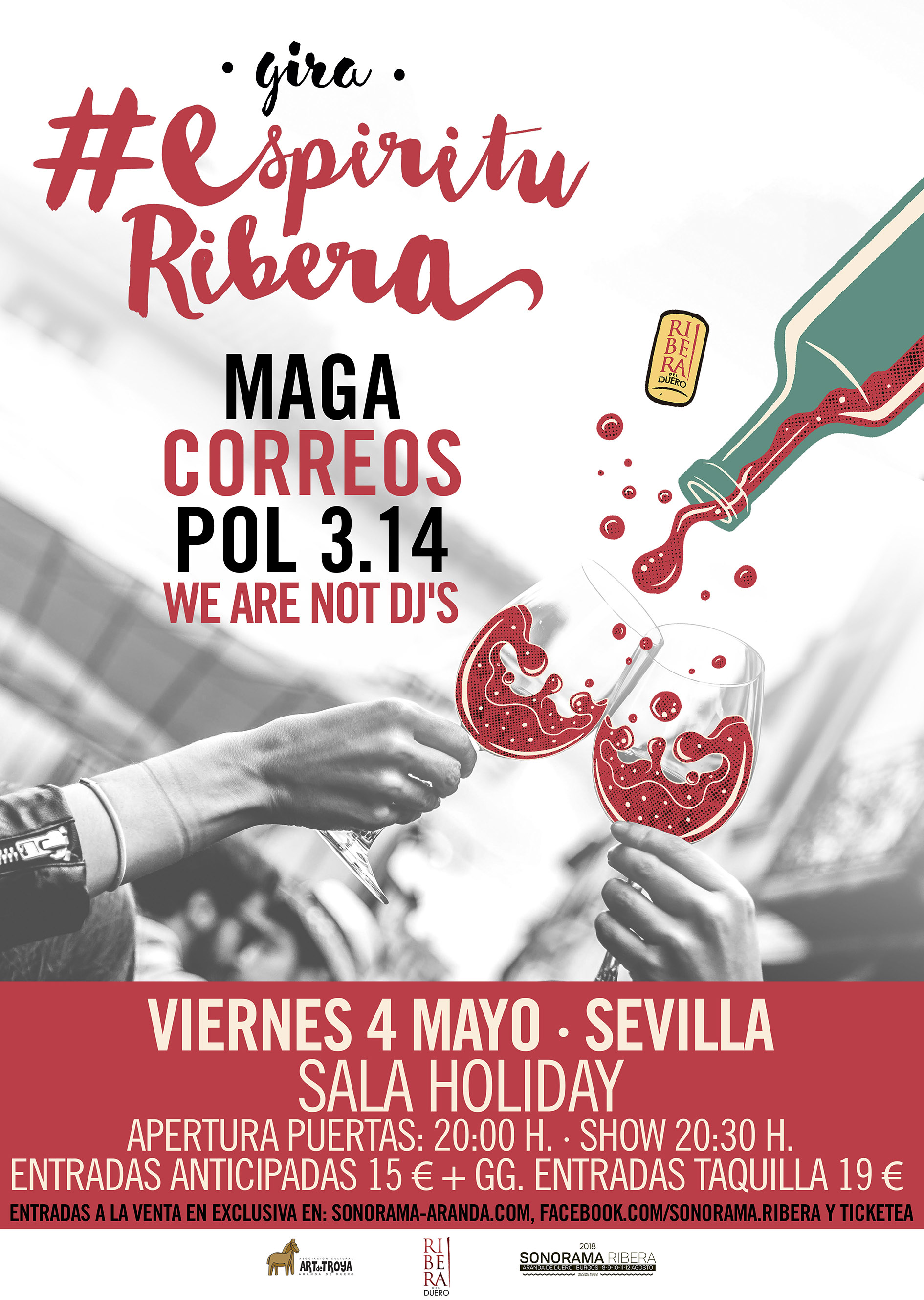 La gira de Sonorama Ribera llega a Sevilla este viernes