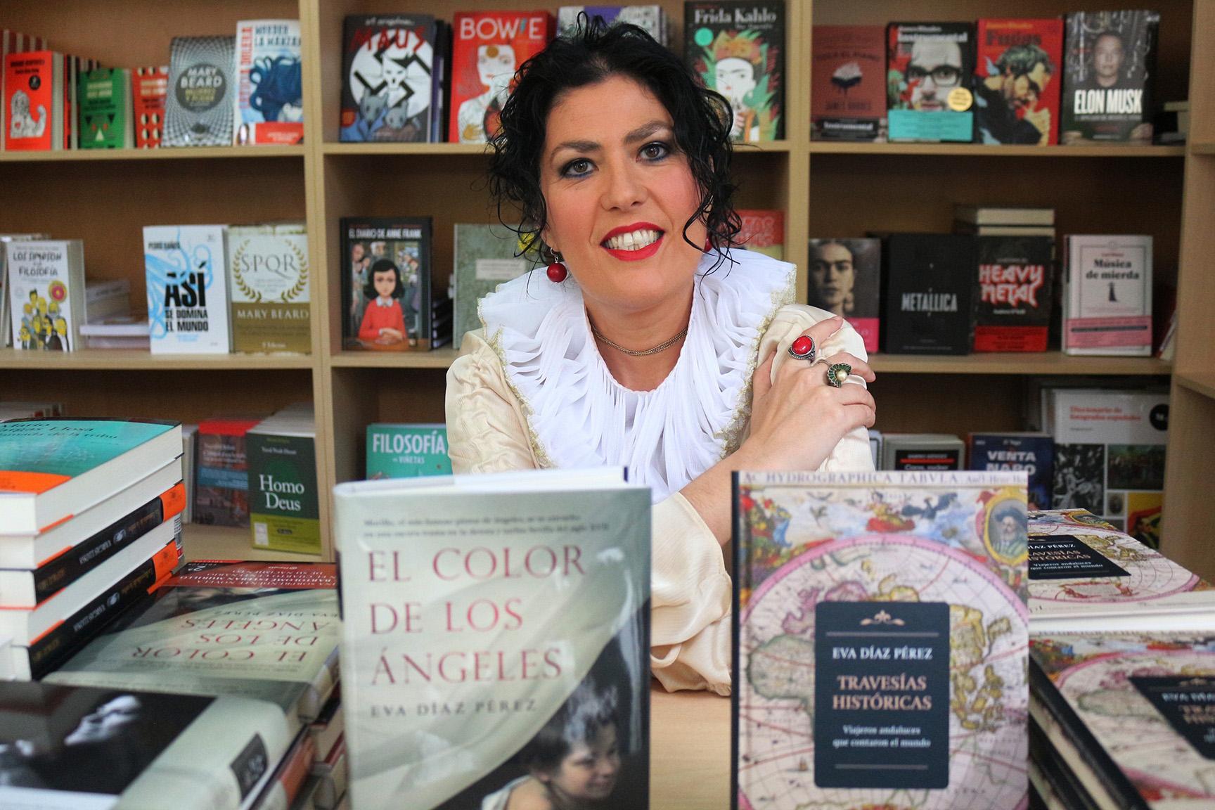 Verónica Durán hace un primer balance de la Feria del Libro de Sevilla