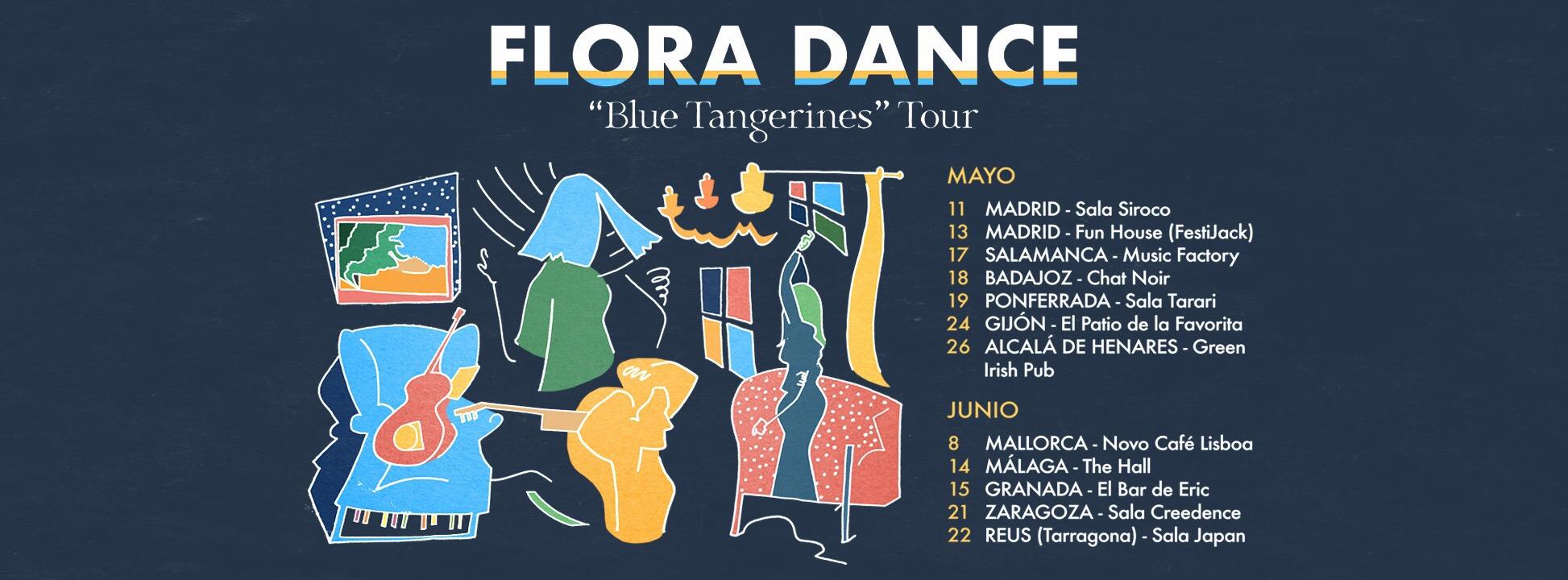 Flora Dance a punto de comenzar su primera gira