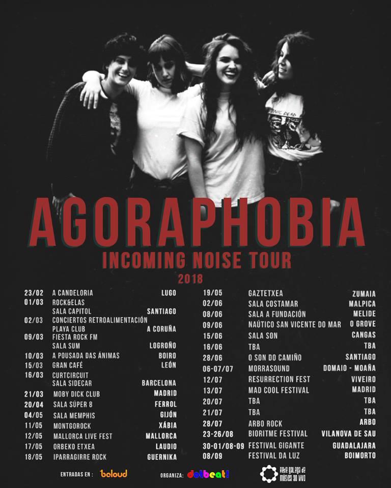 """Agoraphobia: """"En nuestros conciertos dejamos toda la energía que tenemos en ese momento"""""""