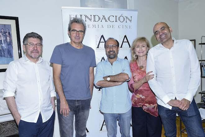 Asghar Farhadi, Patrono de Honor de la Fundación Academia de Cine