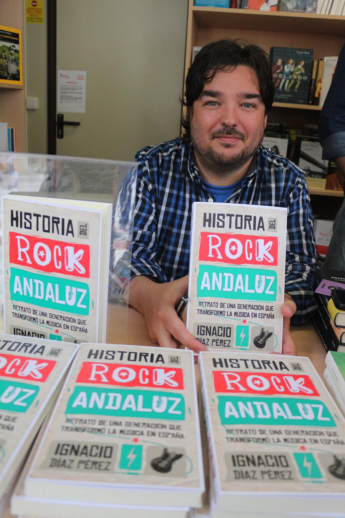 """Ignacio Díaz Pérez: """"Me he intentado acercar al rock andaluz con absoluto respeto y sin prejuicios"""""""