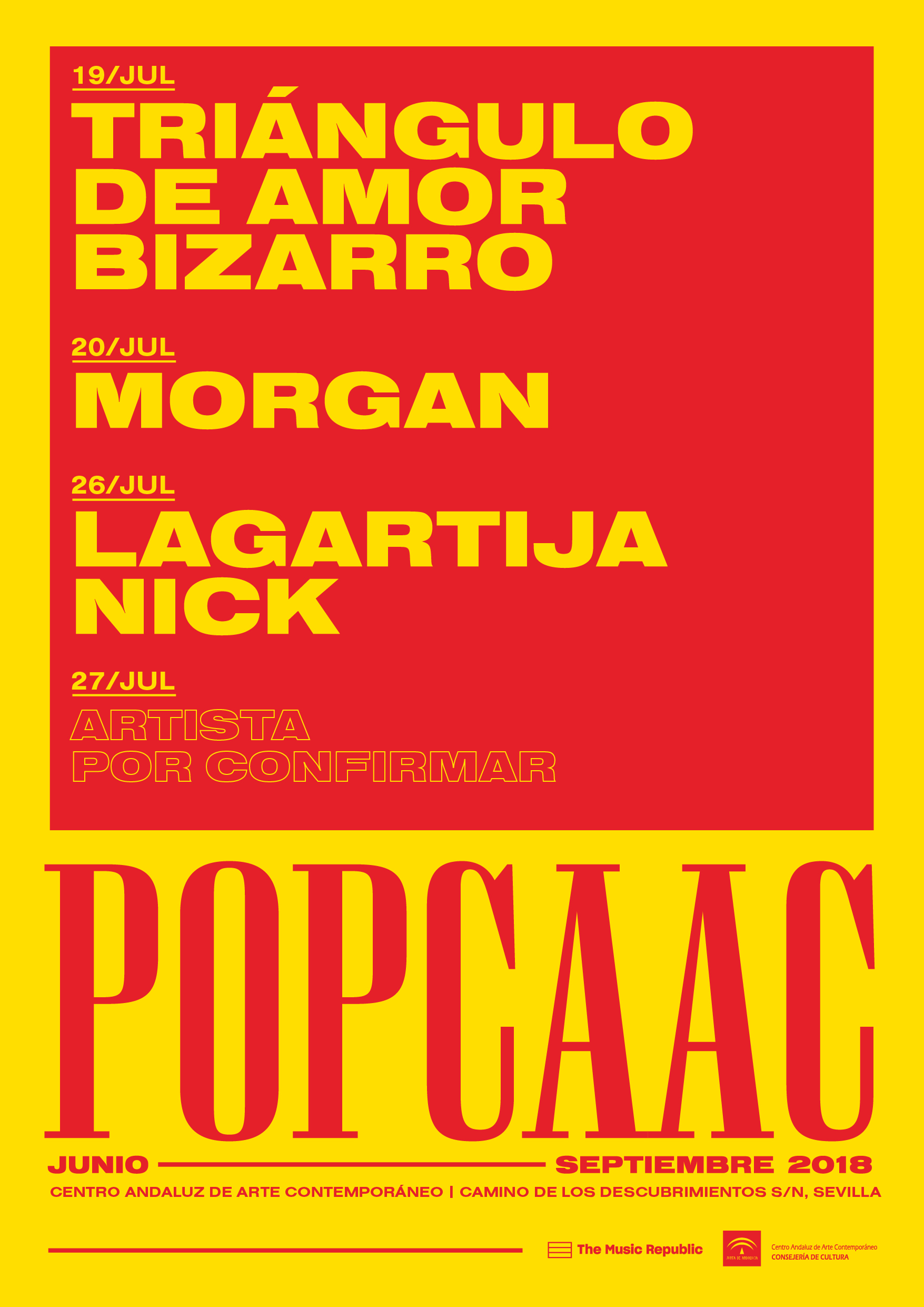 The Music Republic y su cartel para el POP CAAC
