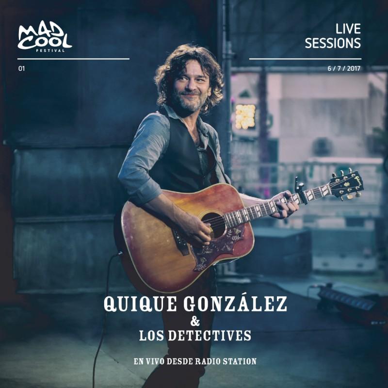 Quique González edita su concierto en el Mad Cool