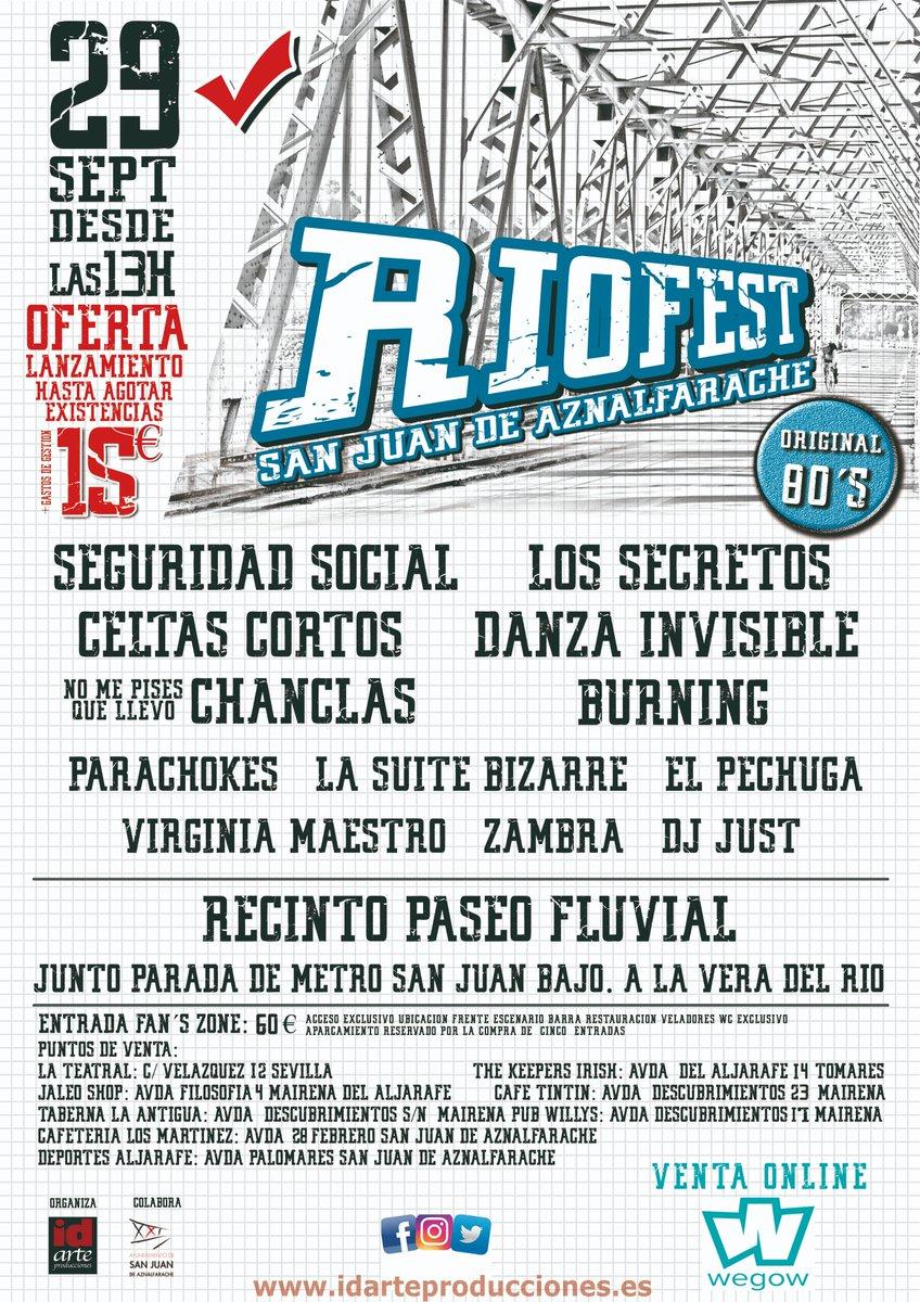 El Festival Riofest 2018 comienza a tomar forma