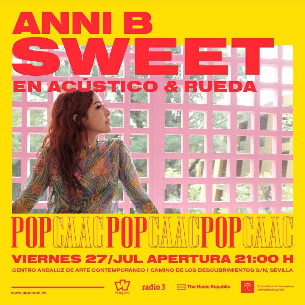 Lagartija Nick y Anni B Sweet, esta semana en POP CAAC