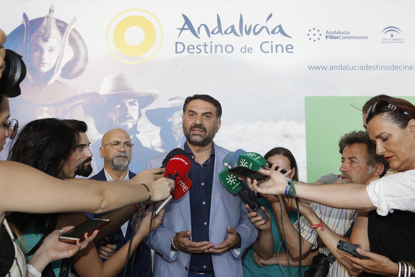 Nace el portal web Andalucía, destino de cine