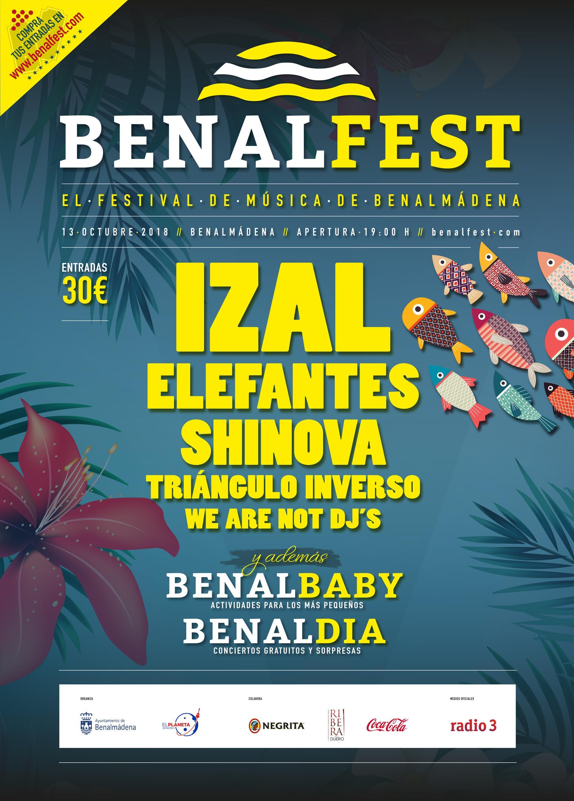 El BENALFEST celebra su primera edición en octubre
