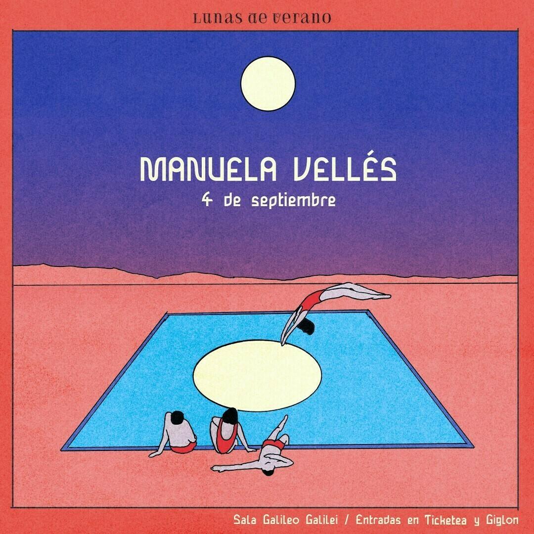 Manuela Vellés presenta su primer disco en Madrid