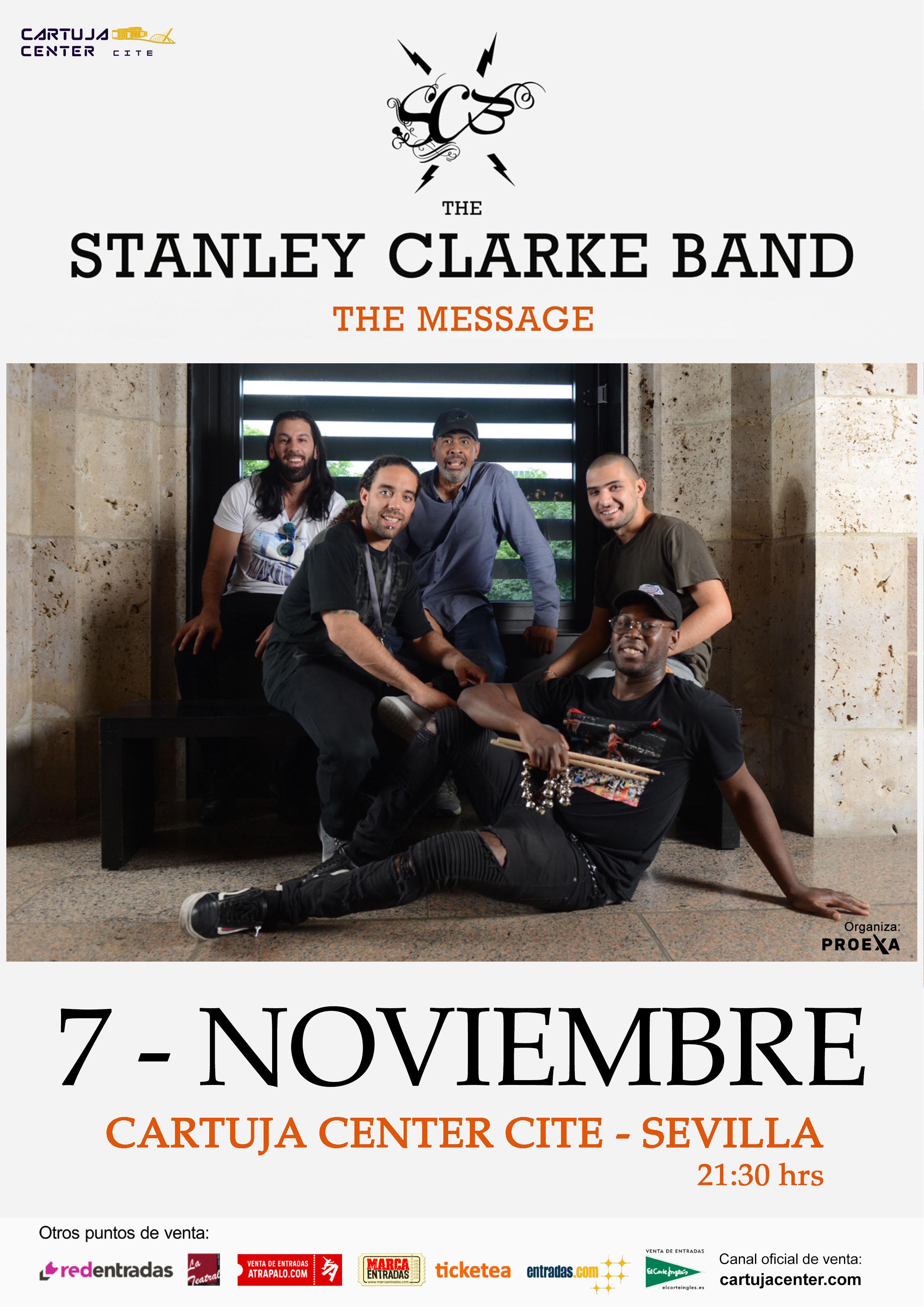 Stanley Clarke & Band llega a Sevilla con su nuevo álbum The Message