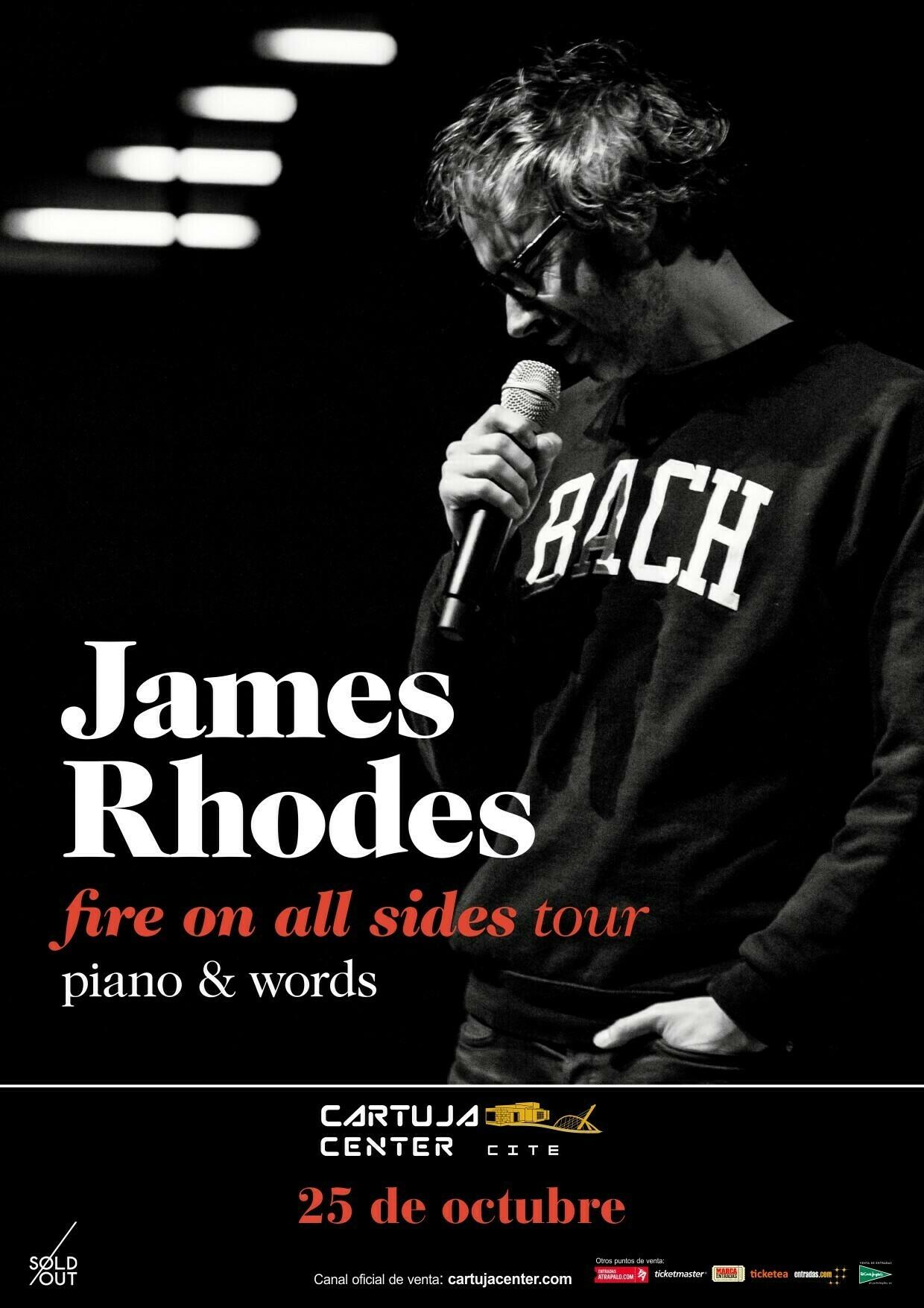 James Rhodes se estrena en Sevilla