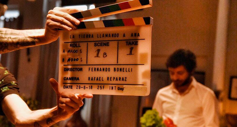 Finaliza el rodaje de La Tierra llamando a Ana, de Fernando Bonelli
