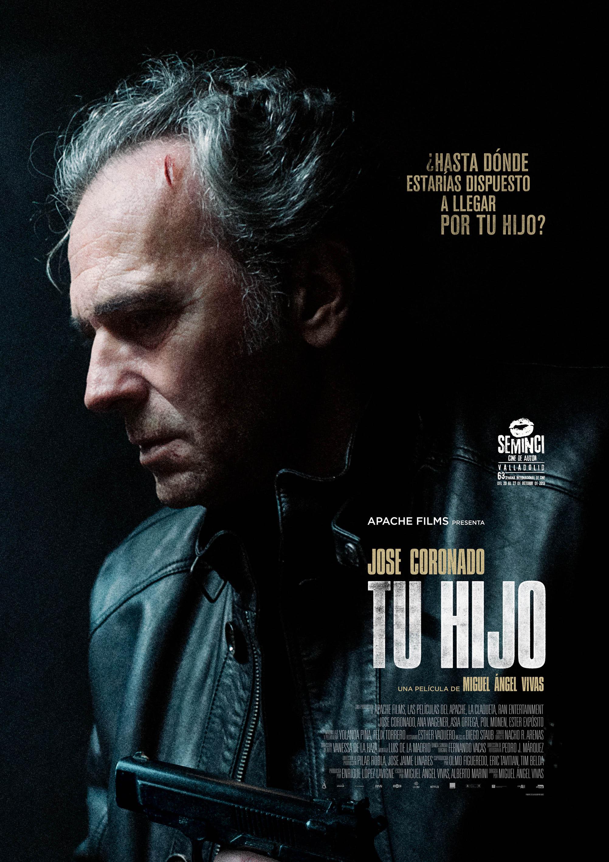 Tu hijo, película de Miguel Ángel Vivas. Un explosivo y personal thriller con el que Jose Coronado regresa a la gran pantalla por la puerta grande.