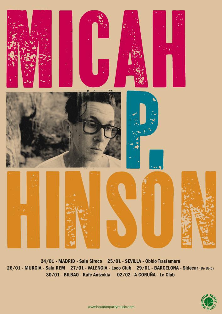 Micah P. Hinson anuncia gira por España