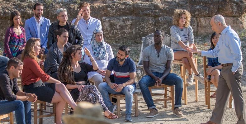 Filmin estrena 'El gran debate': Sócrates en tiempos de Twitter