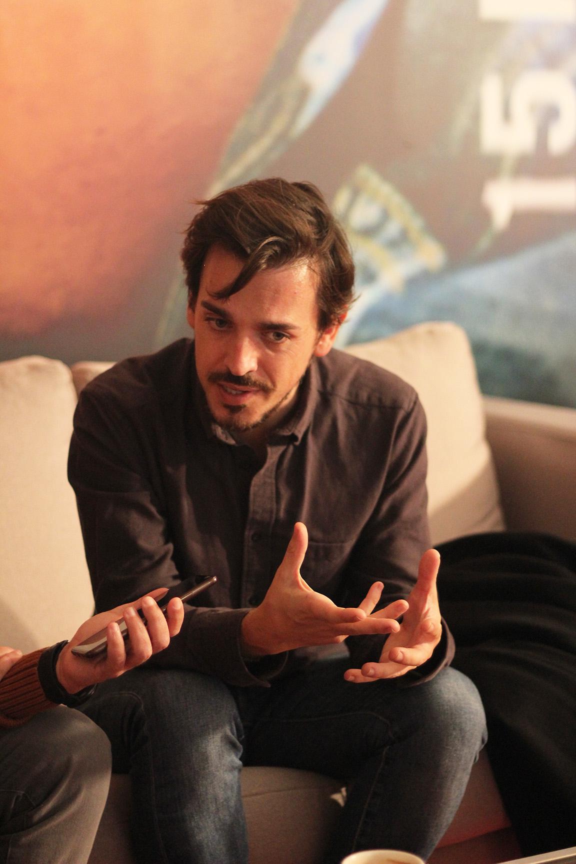 """Nicolás Pacheco: """"Jaulas es un cuento hacia la libertad y la esperanza"""""""