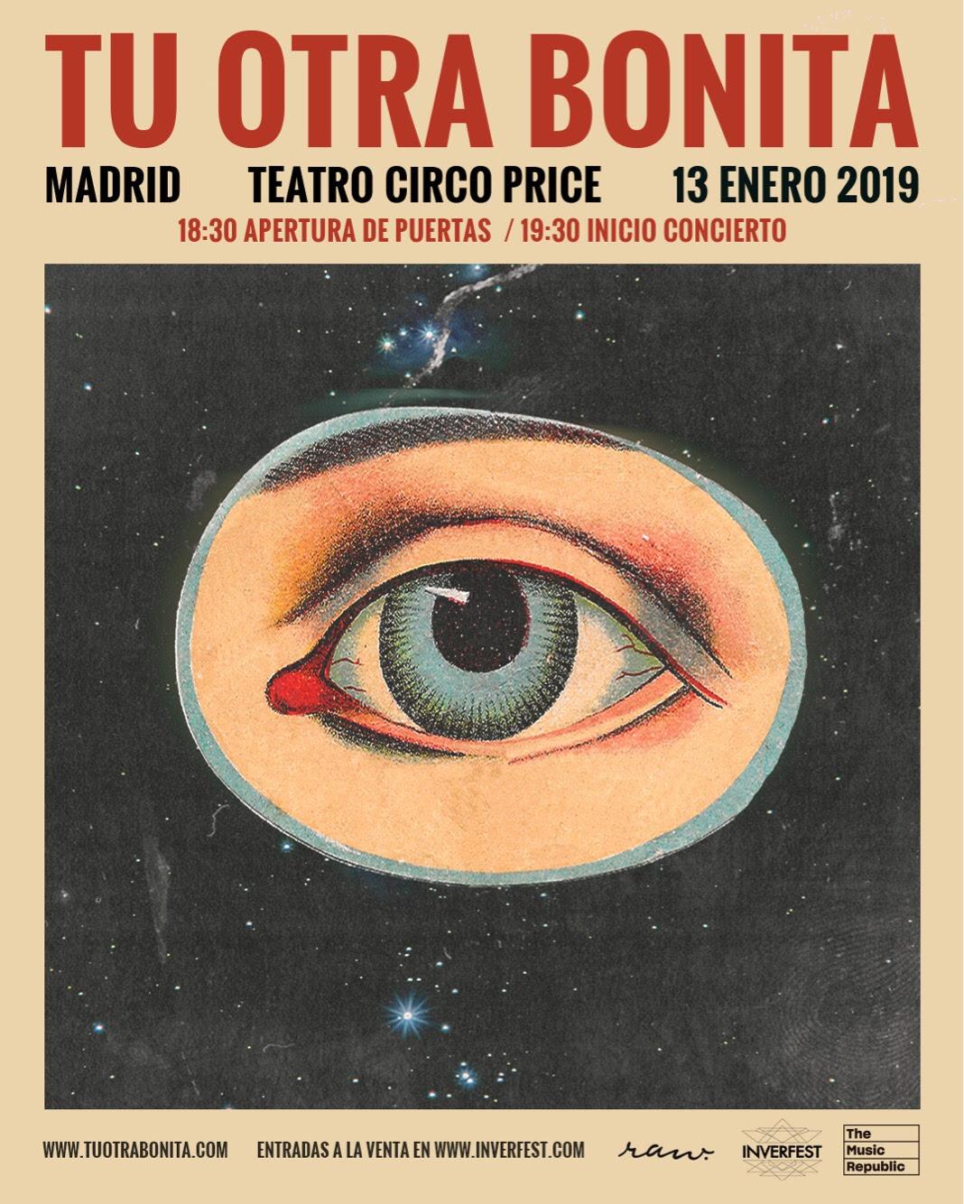 Tu Otra Bonita presenta su nuevo disco en Madrid