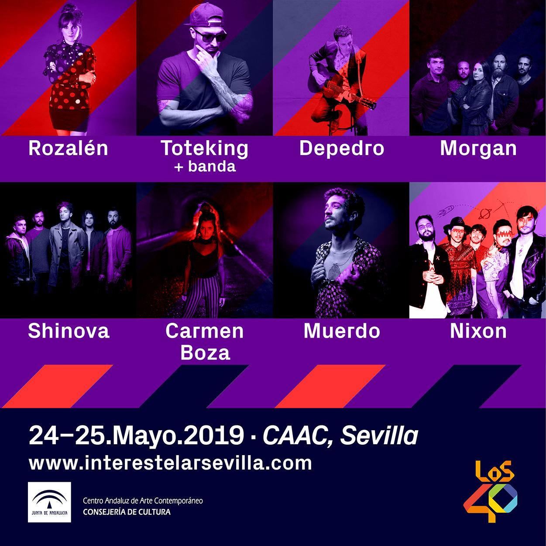 Ocho nuevos nombres para Interestelar Sevilla 2019