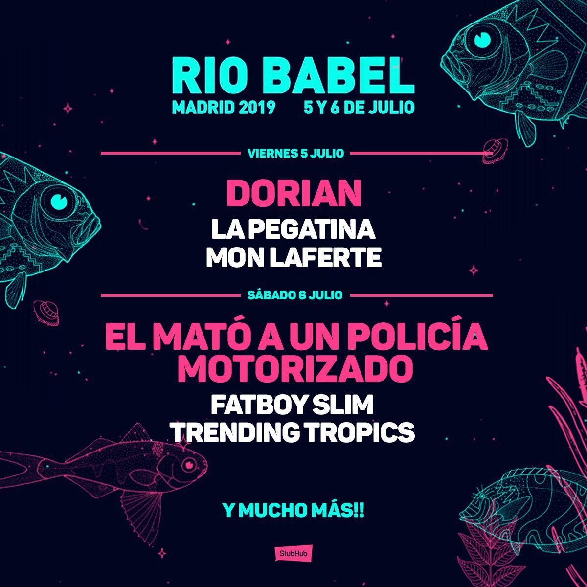 El Festival Río Babel anuncia nuevas confirmaciones para 2019