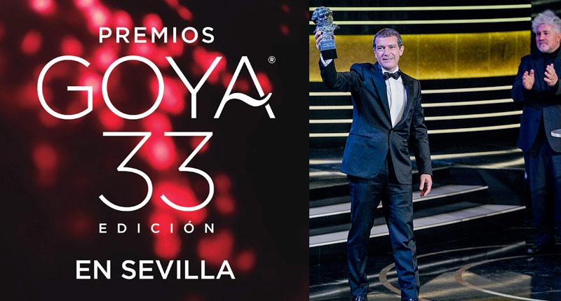Sevilla ya vive su cita con los Premios Goya