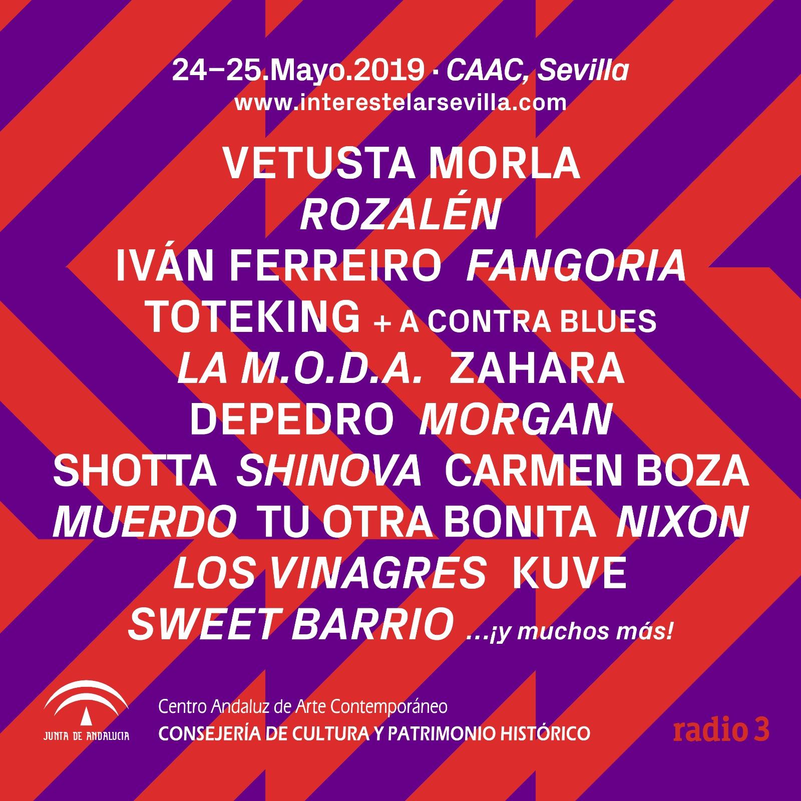 Fangoria lidera las nuevas confirmaciones de Interestelar Sevilla