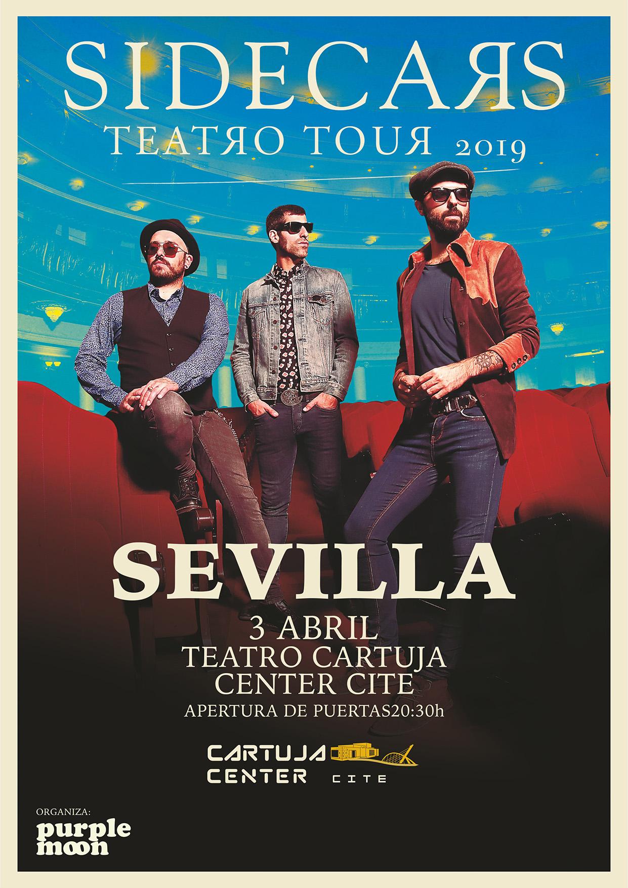 Sidecars llega a Sevilla con su Teatro Tour 2019