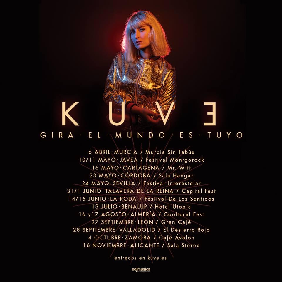 """Kuve: """"Este es un disco para escuchar a todo volumen y disfrutar del viaje"""""""