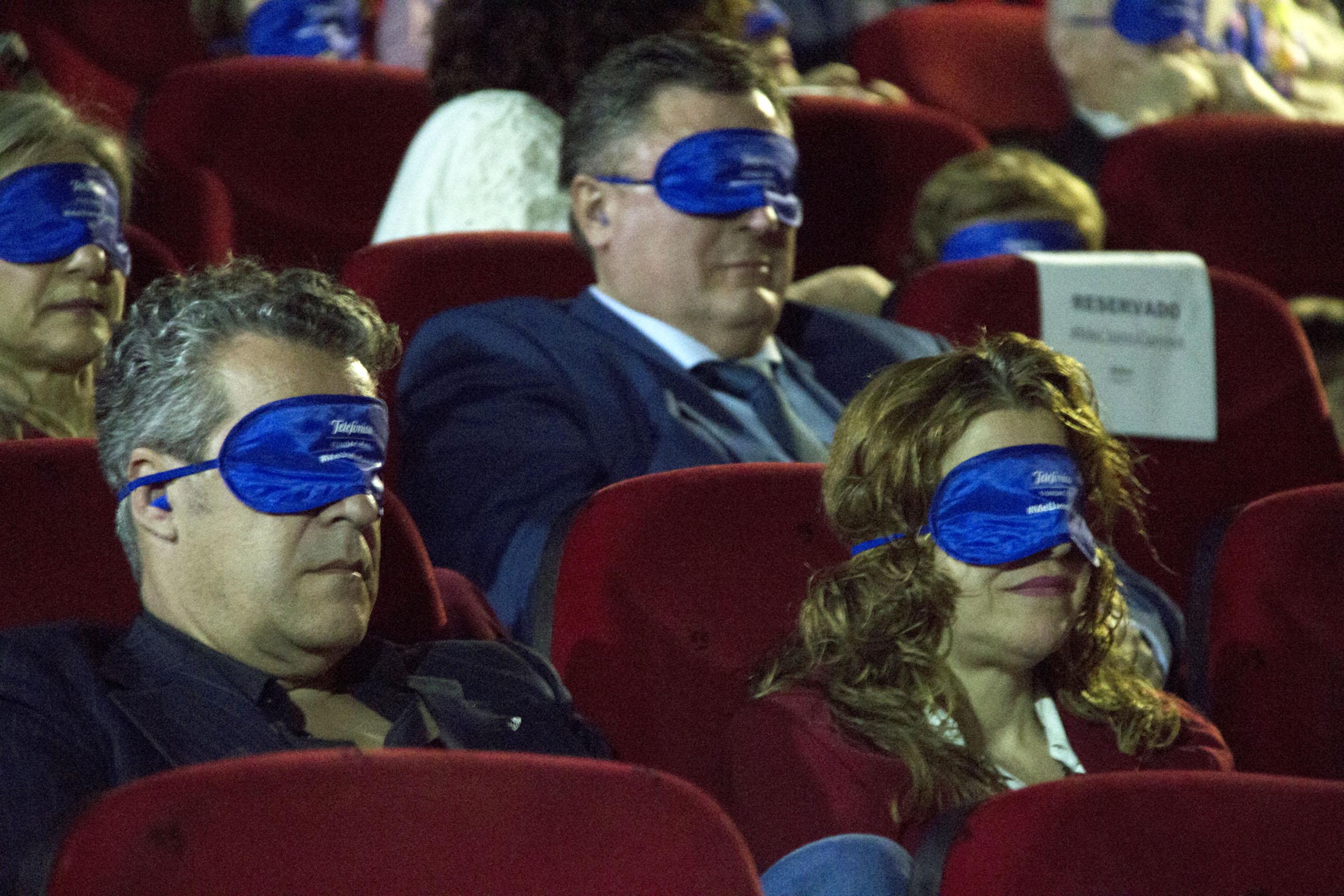 Me llamo Gennet emociona en su preestreno en Sevilla