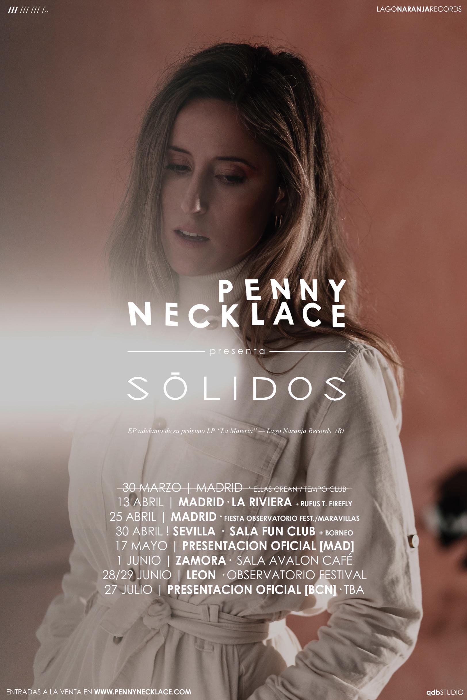 """Penny Necklace: """"Crear es la única forma que conozco de crecer; me hace realmente feliz"""""""
