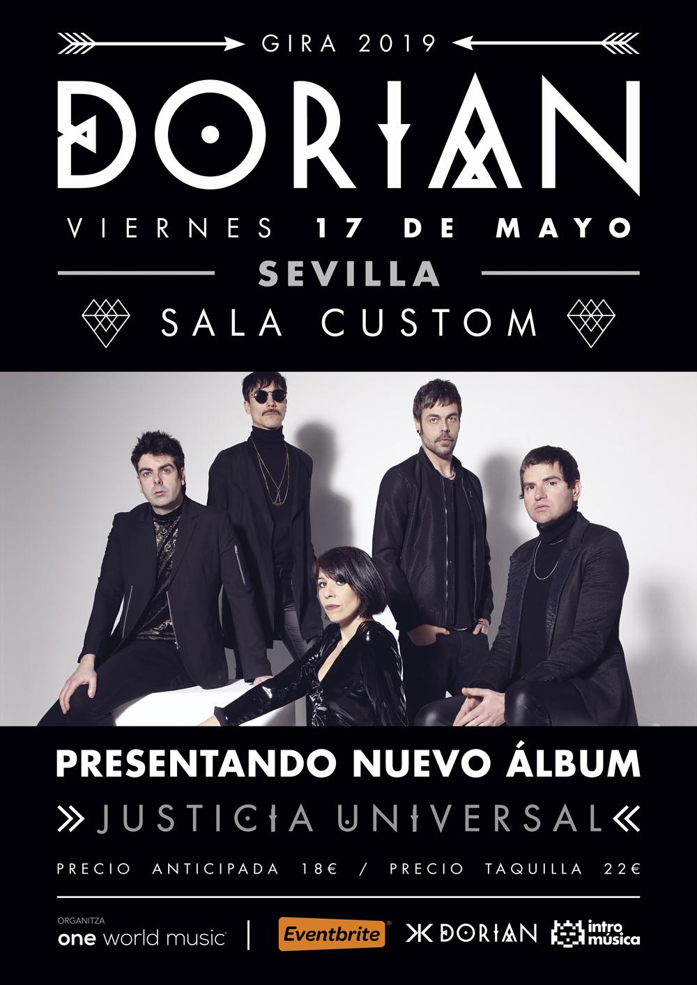 Dorian vuelve a Sevilla con 'Justicia Universal'