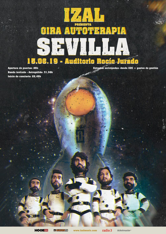 Izal aterriza con su gira Autoterapia en Sevilla