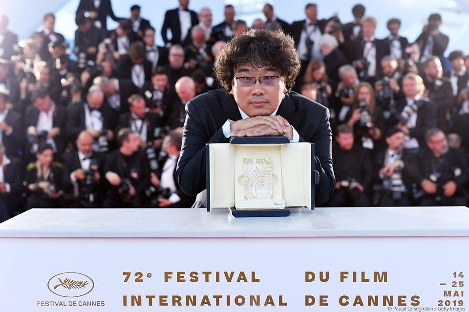 Antonio Banderas recoge en Cannes el premio a cuarenta años de trabajo