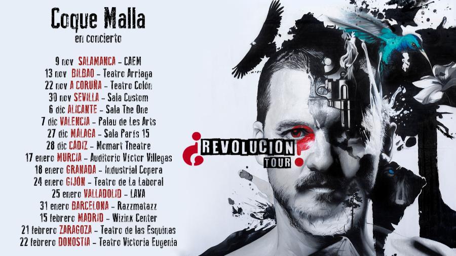 Coque Malla anuncia la gira de presentación de su nuevo disco