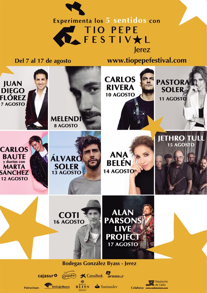 El Tío Pepe Festival de Jerez regresa con su oferta multisensorial